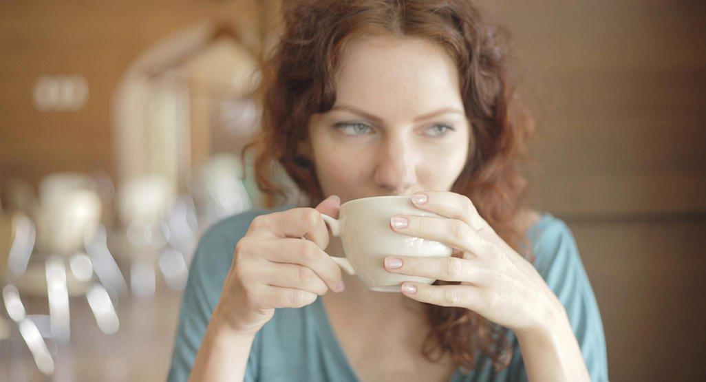 Drikker Oolong te
